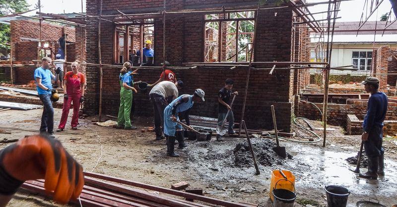 Bouwen in Myanmar