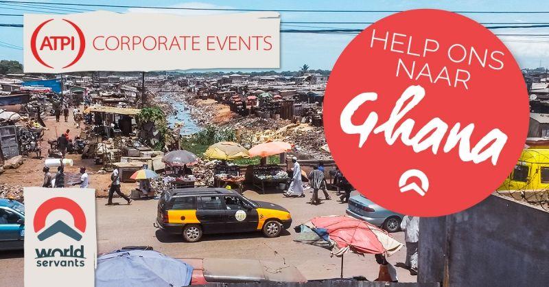 ATPI denkt mee en helpt de groep naar Ghana