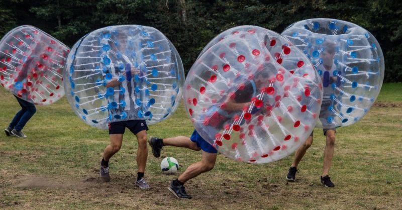 Sport en spel tijdens het Voorbereidingsweekend