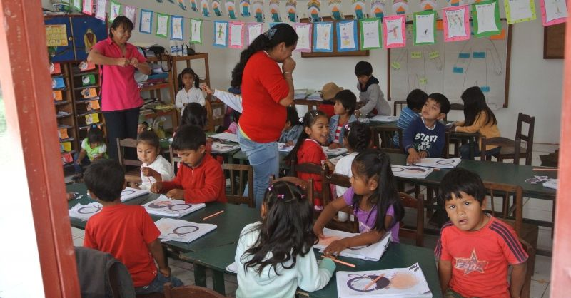 Bolivia | Kinderen in de klas