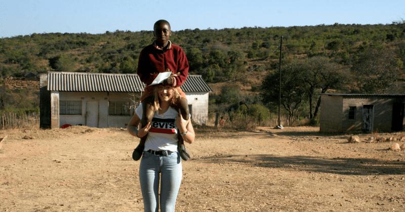 Kirsten met Anele