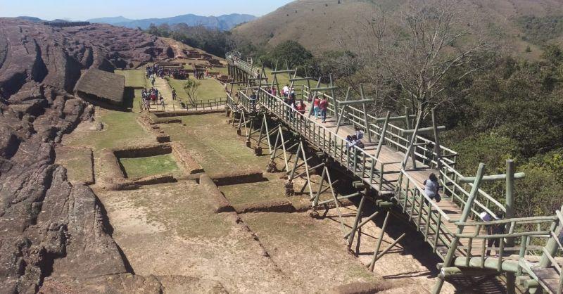 Slimme Inca's hier: ze bouwden zelfs houten bruggen