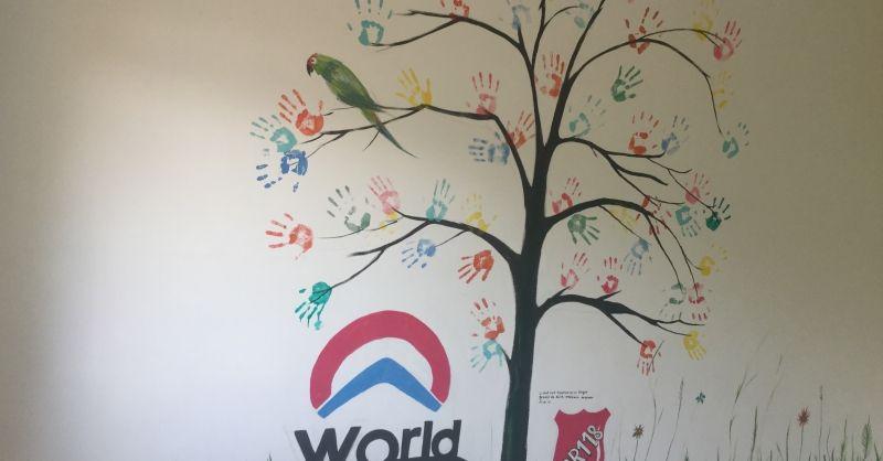 de muurschildering