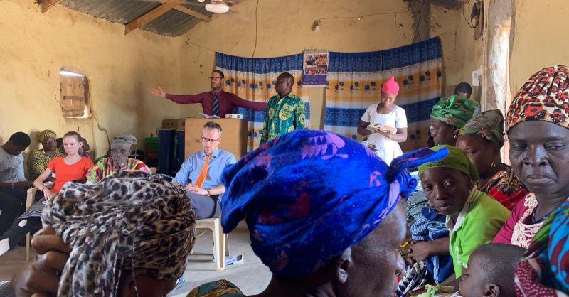 Dominee Gertjan vertelt over de barmhartige samaritaan