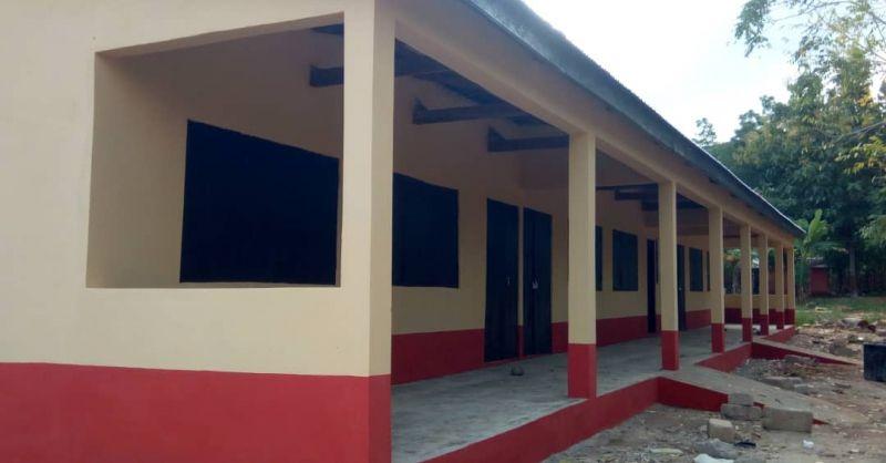 klaslokalen in Asenema