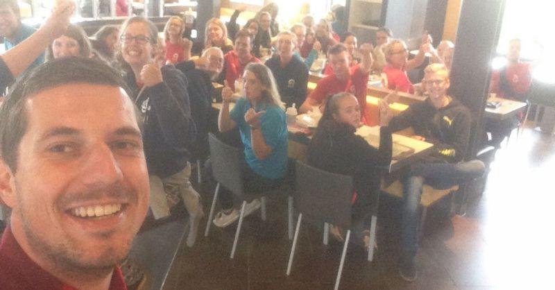 Laatste stop: McDonalds Meerkerk