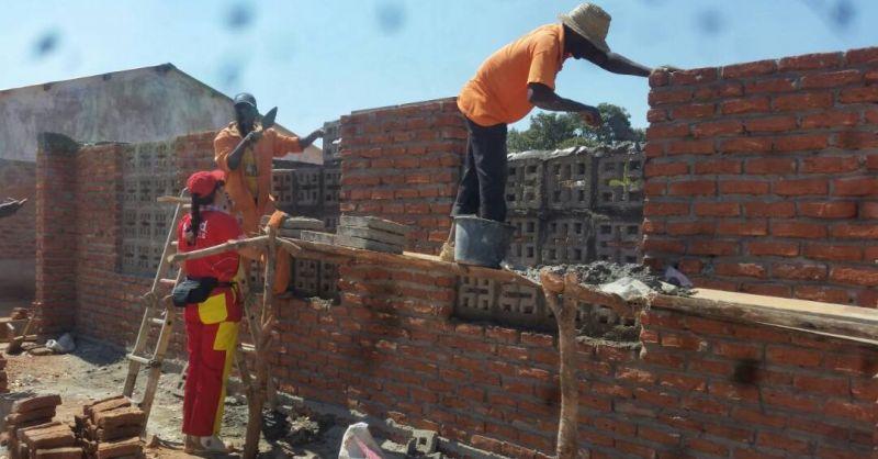 De bouw vordert