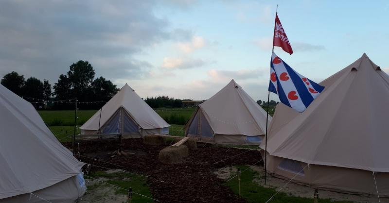 Het tentenkamp