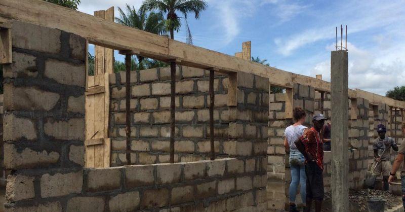Op de bouw