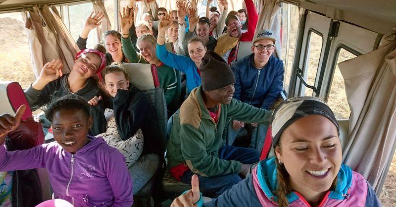 Onderweg naar de safari!