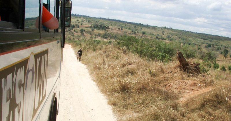 Onderweg (archieffoto)