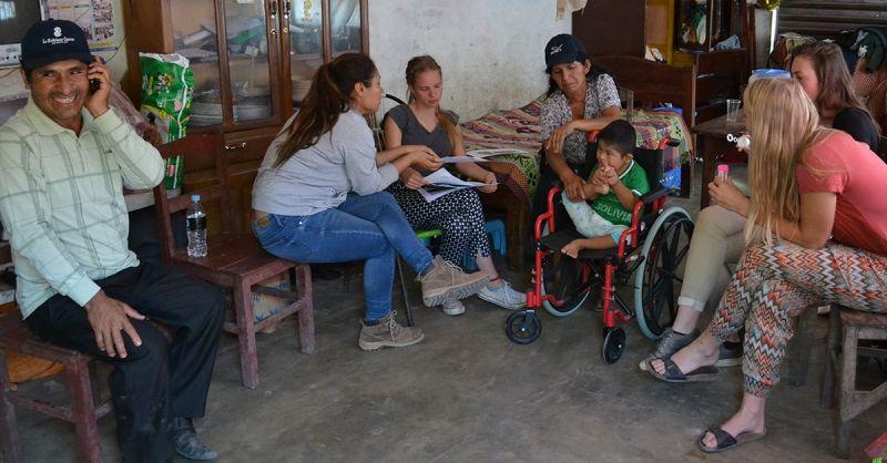 Huisbezoek in Bolivia (archieffoto)