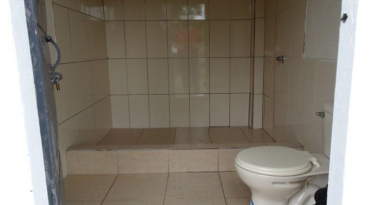 Toiletten zijn klaar