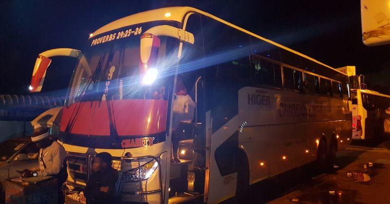 Bus naar Lundazi