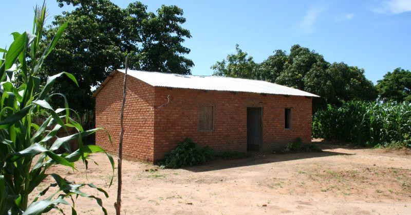 Bestaande lerarenwoning in Kamphambe