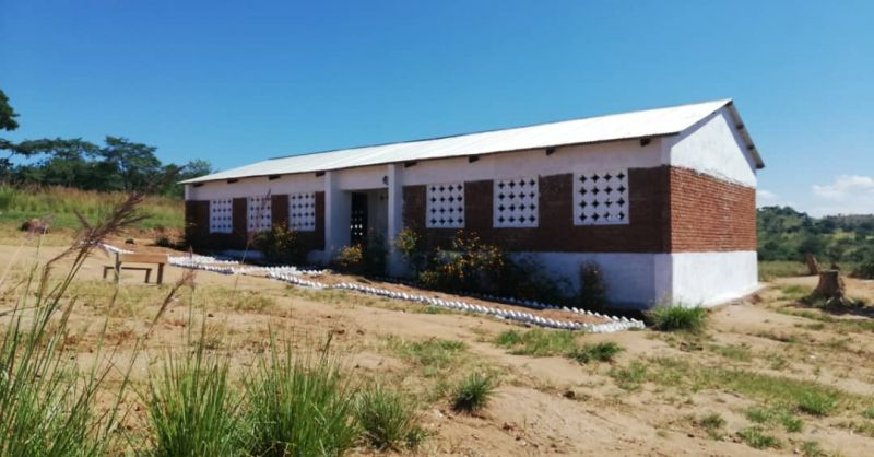 The classroomblock build by the WS team in 2014