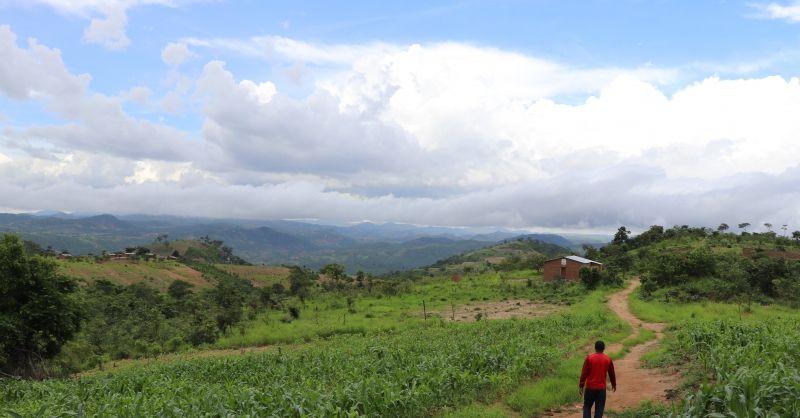 Het prachtige uitzicht rond Chigumba