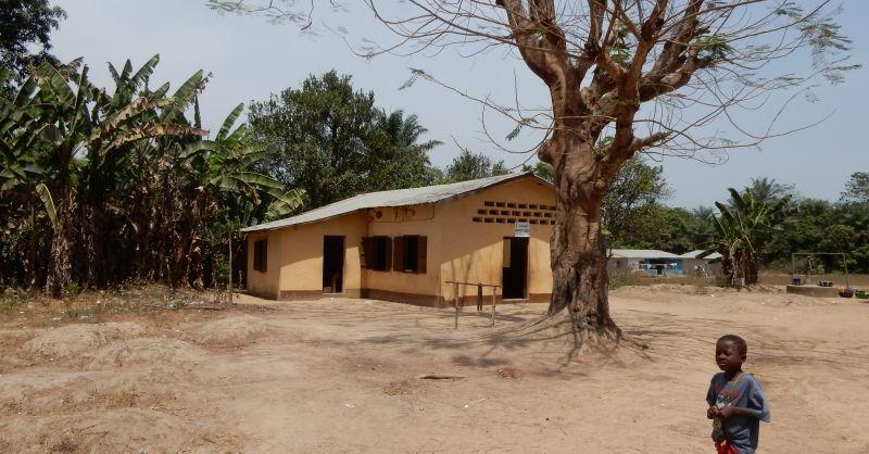 Kerk, wordt nu gebruikt als school