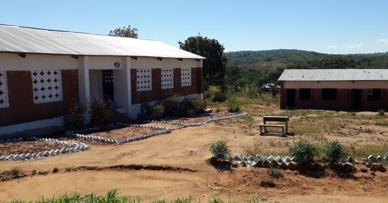 The school terrain
