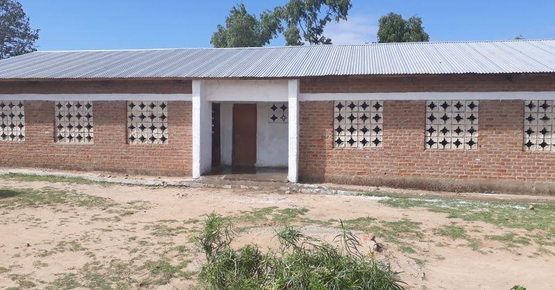 De klaslokalen