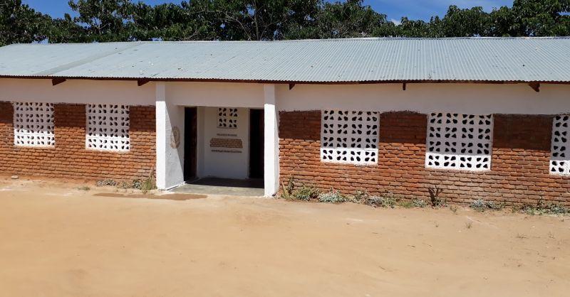 Klaslokalen gebouwd door WS