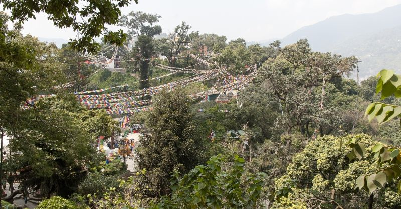 Omgeving Kathmandu