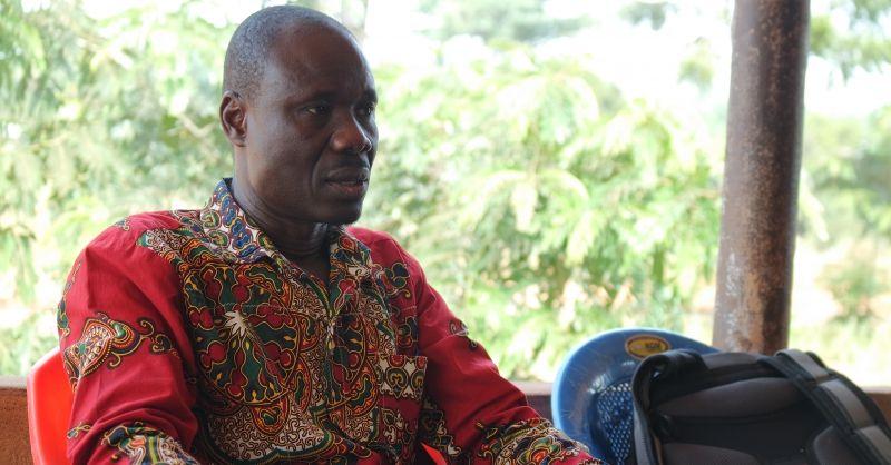 Coordinator Stephen Abarika