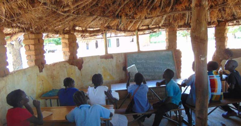 Een nieuw klaslokaal is van harte welkom