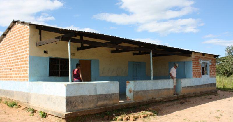 Dit klaslokaal wordt straks gebruikt als eetzaal