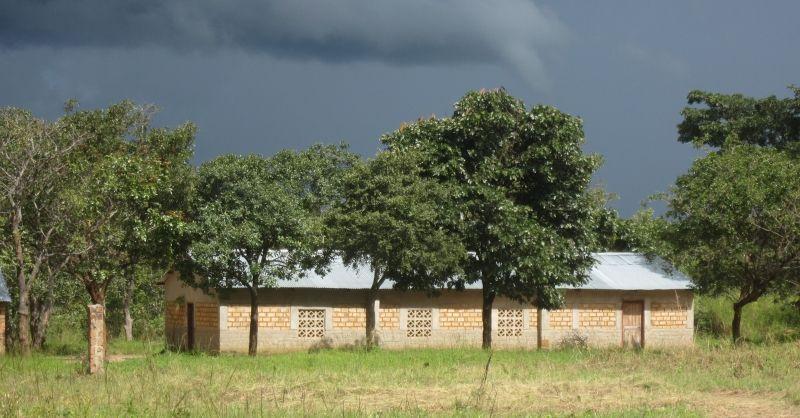 Het bestaande schoolgebouw