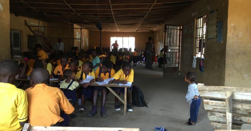 School aan de binnenkant