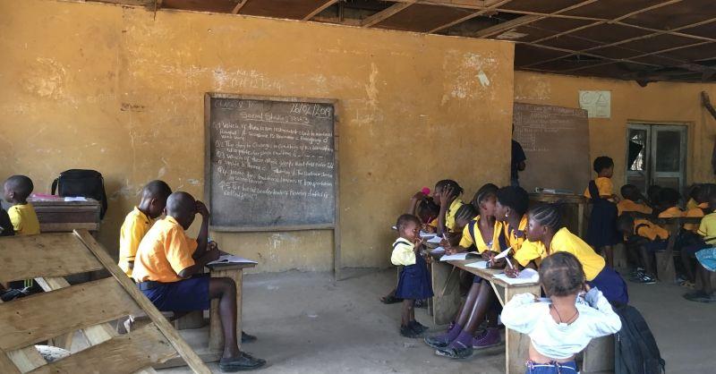 Leerlingen in de klassen