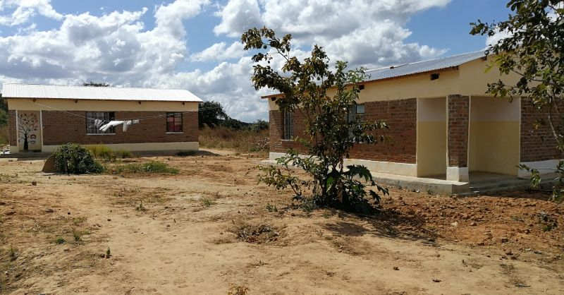 Two teacher houses build by WS team in 2018