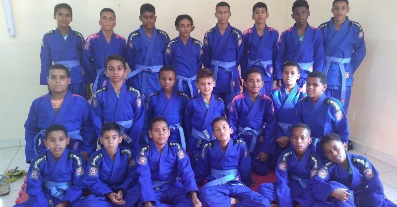 Children of Mariana training Jijitsu in the Blue House