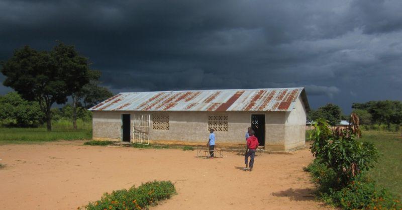 Nog een van de huidige schoolgebouwen