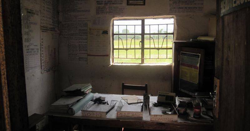 Welkom in het kantoor van de Head Teacher