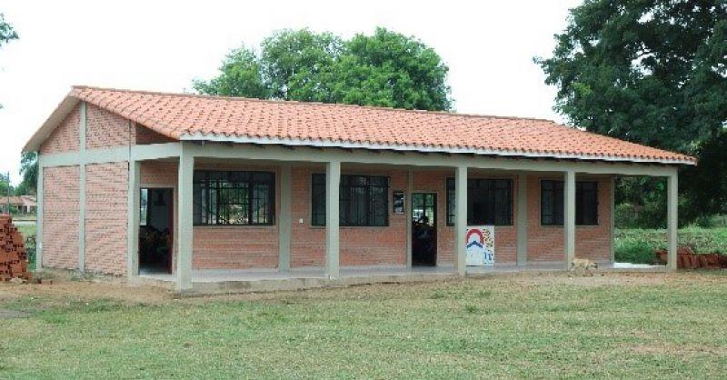 Voorbeeld twee lokalen voor school in El Torno