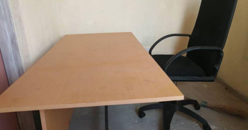Behandelruimte nu ook voorzien van een bureau