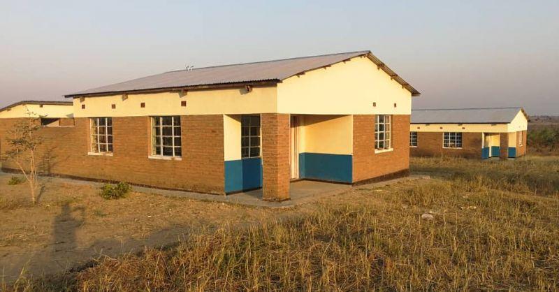 De woningen voor het medisch personeel