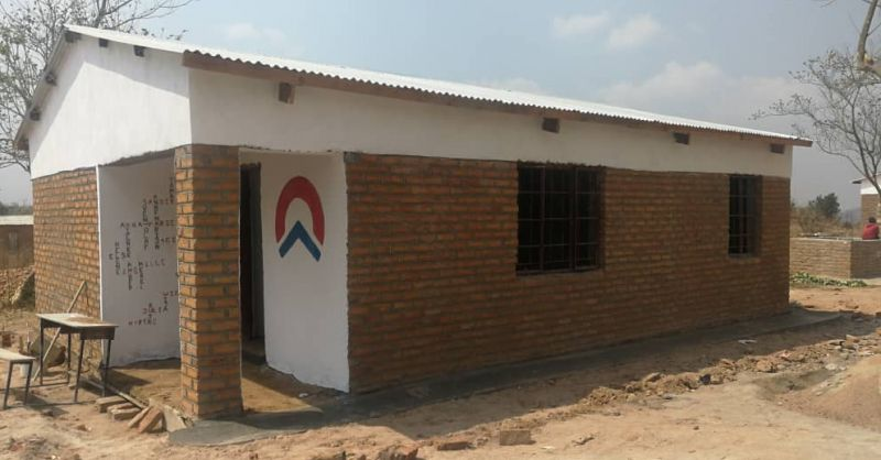 Second teacher house in Kamphambe