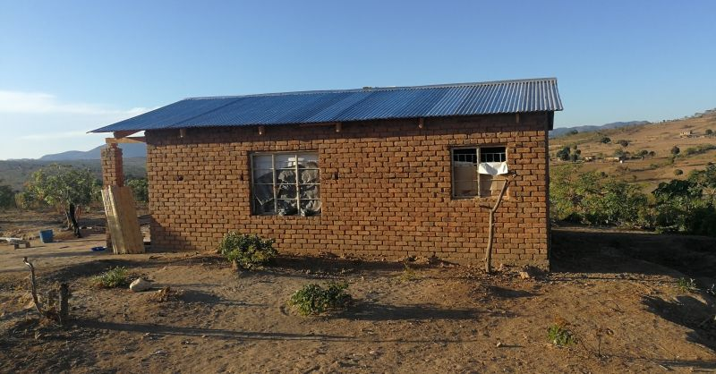 Teacher house renovated by community