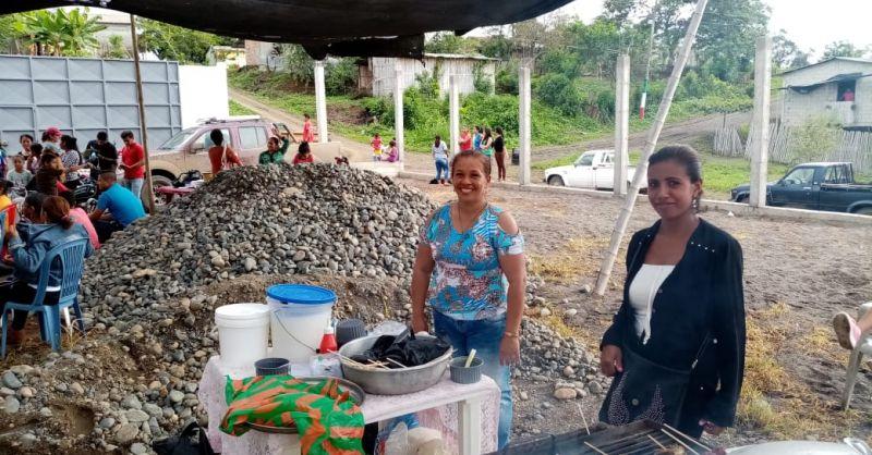 Fondsenwerven in La Libertad