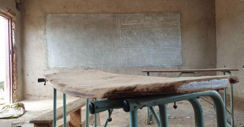 Dit klaslokaal ga jij renoveren