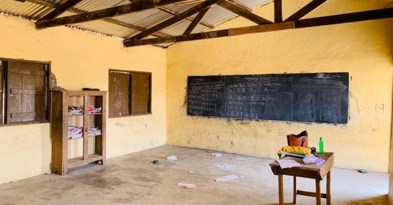 Impressie klaslokaal