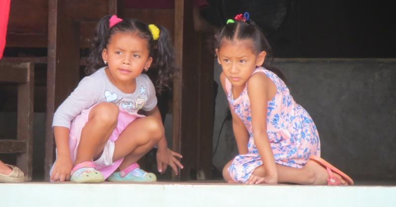Girls from Cerro Cabra