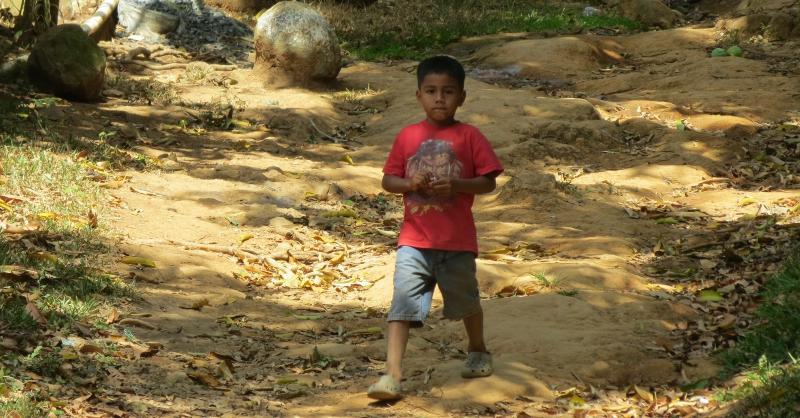 Boy from Cerro Cabra