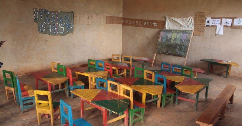Huidige kleuterklaslokaal