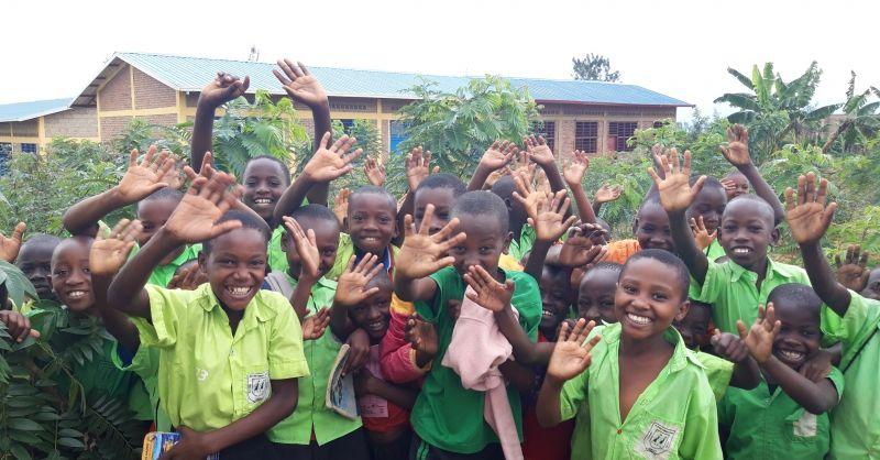 Kinderen van de primary school
