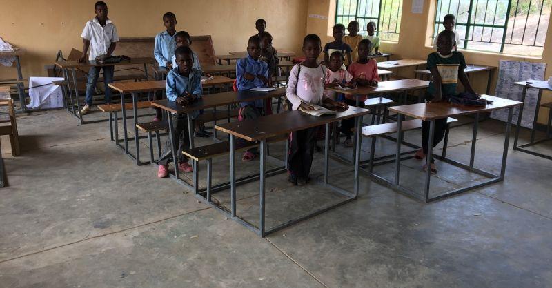 Het is rustig in de klas vandaag