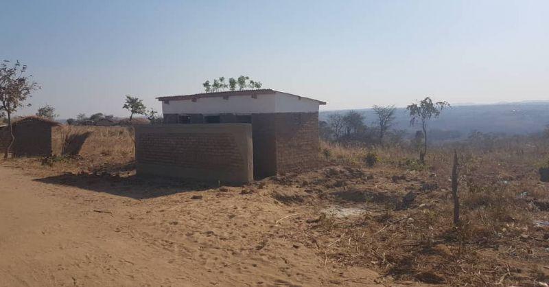 Kantheska toilet & GCR front view